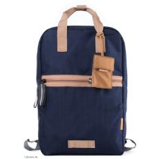 CRUMPLER - Doozie Backpack dk. navy / copper