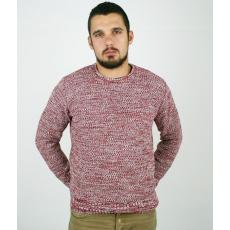 M méret Texturált kötésű pulóver