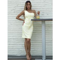 Meringue fashion AKCIÓ nyomott görög pántos ruha