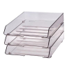 Dual Desk organiser  cylindrical with drawers  smoky 5907377538424