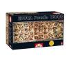 Educa A Sixtus-kápolna puzzle, 18000 darabos - Educa (Educa-8160651) puzzle, kirakós