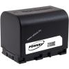 Powery Utángyártott akku videokamera JVC típus BN-VG121AC 3,6V 2670mAh Li-Ion fekete (info chip-es)