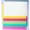 Címke papír, fehér, 10x60 mm