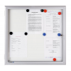 Premium kültéri fali vitrin 73,0x98,9 cm