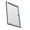 Premium beltéri fali vitrin és whiteboard egyben (kifelé nyíló ajtóval) 35,3x47,6 cm