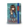 Santoro Gorjuss, mini notesz, jegyzetfüzet, Hush Little Bunny, 10x7cm