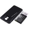 Powery Utángyártott akku Samsung Galaxy S5 LTE fekete 5600mAh