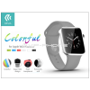 Devia Apple Watch védőtok - Devia Colorful 38 mm - clear