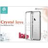 Devia Apple iPhone 6/6S hátlap Swarovski kristály díszitéssel - Devia Crystal Love - silver