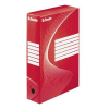 ESSELTE Archiving boxes: 80 mm  red 3249441284120