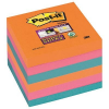 3M-POST-IT 6546SSEG Sticky notes pad: Postit® Super Sticky  sparkling colours  6 pads of 90 0051141380810