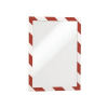 DURABLE DURAFRAME SECURITY A4 – two-coloured  self-adhesive magnetic frame  red/white tbk2290195