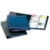 DURABLE Business card holder: VISIFIX  400 cards – navy blue 4005546208930