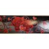 Bordó rózsa öntapadós bordűr