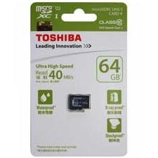 MemoryCard microSD Toshiba 64GB memóriakártya