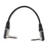 FrontStage 2 x FrontStage patch kábel, 6,35 mm jack, 30 cm, szögletes