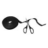 LogiLink vágható tépőzáras kábelkötegelő, 10m x 20mm - fekete