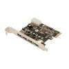 LogiLink USB 3.0-ás 4 portos PCI Express kártya