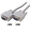 LogiLink VGA kábel, 2x apa, szürke,3M