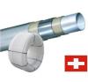 Haka 10x1,3 PE-RT 5 rétegű cső falfűtéshez hűtés, fűtés szerelvény