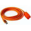 Tether Tools TetherPro USB 2.0 Active Extension, 65, Hi-Visibility ORG