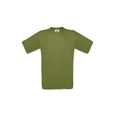 B&C B&C r. ujjú pamut póló, green moss
