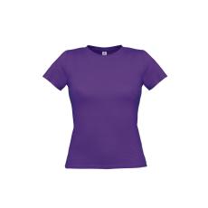 B&C B&C környakas Női póló, purple