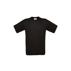 B&C B&C r. ujjú pamut póló, fekete