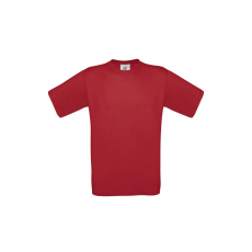 B&C B&C környakas póló, deep red