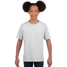 GILDAN Softstyle Gildan gyerekpóló, fehér