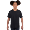 GILDAN Softstyle Gildan gyerekpóló, fekete