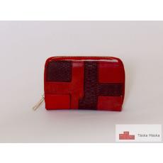 P029 piros női pénztárca