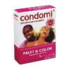 Óvszer, Condomi fruit & color 3 db-os