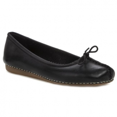 Belarina CLARKS - Freckle Ice 203529294 Black Leather