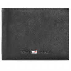 Tommy Hilfiger Nagy férfi pénztárca TOMMY HILFIGER - Johnson Cc Flap And Coin Pocket AM0AM00660 Black 002