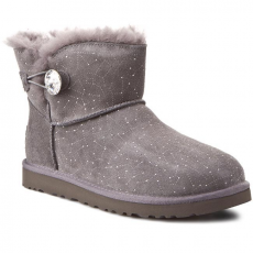 Ugg Australia Cipők UGG AUSTRALIA - W Mini Bailey Button Bling Constellation 1008822 Grey