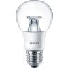 Philips Master E27 LED fényforrás, melegfehér 2200-2700K, 6-40W, 470 lm, fényerőszabályozható, 3 év garancia
