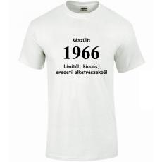 Tréfás póló 50 éves, Készült 1966...   (L)