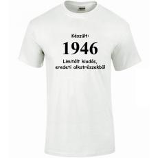 Tréfás póló 70 éves, Készült 1946...  (M méret)