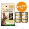 Applaws 400 g Applaws + 6 x 70 g Applaws próbacsomagban! - Csirke