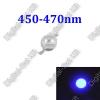 N/A 1W Power LED Kék, 450nm-470nm,növényekhez,akváriumhoz is