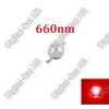 N/A 3W Power LED mélyvörös, 660nm, növényekhez,akváriumhoz is,deep red power LED