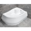 Radaway Korfu E Jobbos 100x80x39,5 zuhanytálca