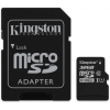 Kingston microSDHC 32GB memóriakártya, Class 10 + Adapter (SDC10G2/32GB)
