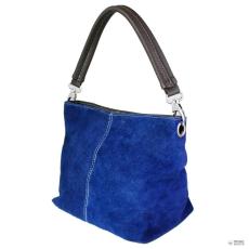 Miss Lulu London E1403 - Miss Lulu Suede egy szíj kézi táska kék