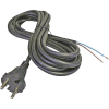 Emos S03250 FLEXO GUMI 3X1,5 H05RR-F fekete 5m szerelt kábel