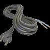 Emos S03050 FLEXO GUMI 2X1 H05RR-F fekete 5m szerelt kábel