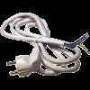 Emos S14315 FLEXO 3X1,0 H05VV-F 5m fehér szerelt kábel