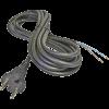 Emos S03030 FLEXO GUMI 2X1 H05RR-F fekete 3m szerelt kábel