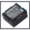 Panasonic VDR-D160EG-S 7.2V 700mAh utángyártott Lithium-Ion kamera/fényképezőgép akku/akkumulátor